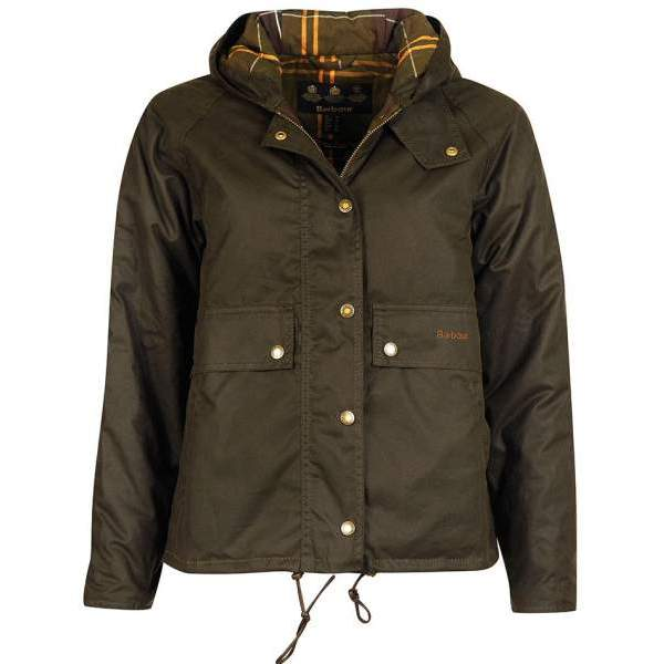 21SS  BARBOUR NAVER WAXED COTTON JACKET