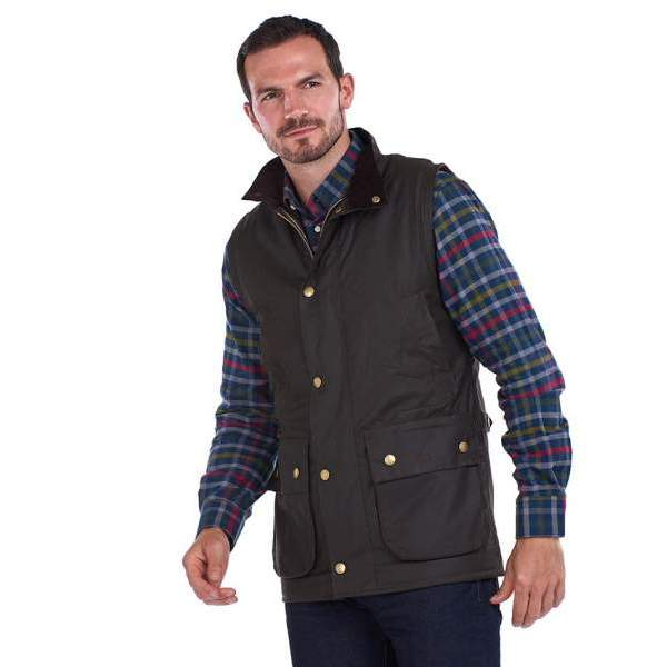 21SS  BARBOUR NEW WESTMORLAND WAX GILET